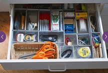 Organise drawers n shelves