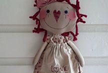 dolls / by Corinne Cloward