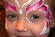 Malování na obličeje