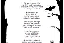 Halloween- poemes i dibuixos-
