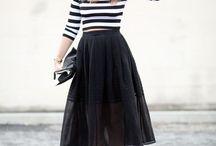 Półdługie spódnice