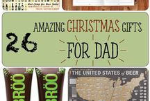 Christmas Gifts for Dads / Cool, funny and thoughtful gifts for Dads!