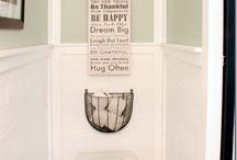 Ideas for the tiny Toilet!