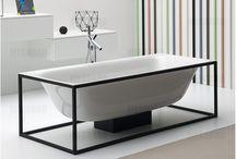 "Devonshire House Spa Bathroom / Cool & Contemporary ""Couples"" bathroom."