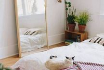 bed on floor inspo
