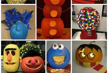 Pumpkin Decorating / What is harvest and Halloween without jack-o-lanterns.  One of the best things about Fall is decorating your home or yard for the holiday.  Pumpkins make great decorations to get into the Autumn spirit. / by allU.S. Credit Union
