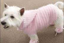 Dog Coats, Hats etc to Crochet or Cnit / HANDMADE FOR DOGS! COATS HATS ACCESSORIES ETC