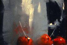 TONY ALLAIN -Pastel Painting