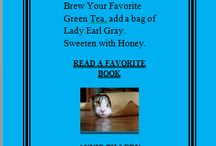 TEAS, CATS AND BOOKS / Some delicious teas to enjoy while reading your favorite books, with or without your favorite cat.