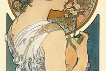 Illustrators from the early 20th Century / Illustrators who worked mainly between 1890 and 1920, especially those influenced by Art Nouveau.