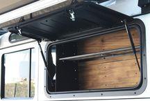 Land Rover/ trailer opbevaring