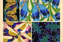 Vintage surface patterns