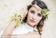 Wianki ślubne, Bride wedding wreath, fascinators / wedding inspiration for Bride