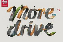 "Nissan Creative Print Ads -""MORE DRIVE"""