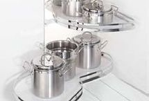 Storage Ideas - Kitchens and Bathrooms / Great storage solutions for kitchens and bathrooms