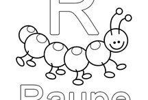 R wie Raupe