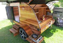 Wooden Camper Trailer