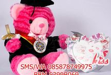 Boneka Wisuda Teddy Bear / Pin BB: 57de19a3, IG: @kadowisudaku, Line: @okb0802c