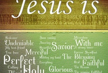 Names of God to Remember and Celebrate / Inspirational - Names about the character and attributes of God/Jesus to encourage your faith