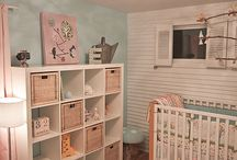 Nursery & Toddler Bedrooms / by Molly LaBelle