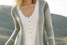 вязание на спицах/ knitting.