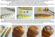 Miniature Bread / how to: bread for dolls houses