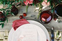 Pantone Color of the Year | Marsala / All things wedding and design curated by Soirée Floral (www.soireefloral.com)