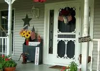 Front porch  / by Jill Kretser Hime
