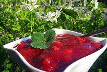 Jam recipes (marmeladit ja hillot)