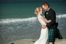 Beach Weddings / Beach wedding photography, Scotland