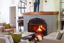 Fireplace dinning