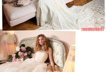 Fashion Forward Wedding Gowns / Beautiful fashion forward gowns