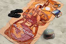 In the Summertime || Geeky Summer Fun / Bathing suits, beach towels, and more for geeks.