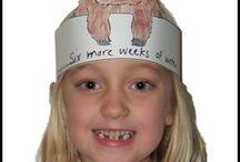 Groundhog Day Crafts / Groundhog Day Crafts and Learning Activities for Children