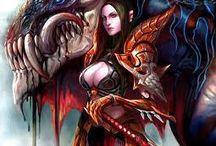Inspiracje z internetu anioły kobiety wojowniczki