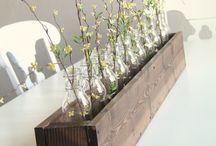 decoracion con botellas / todo tipo de utilizacion con botellas de vidrio y plastico