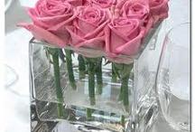 Flowers & table dressings