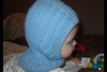 detské čiapky pletené
