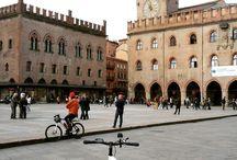 Bologna in bici / Reportage a Bologna con la bici grazie al partner We Go Green e alla sua web cam