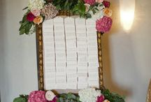 Take Your Seat / Escort card displays, cards and inspiration.