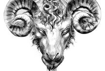 ram tattoo aries