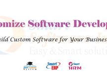 Software Development / Smart Software develops in windows, web and mobile platforms for better accessibility and user friendliness of the user end. Smart Software works with ERP, HRM, Accounting, Payroll, School Management software development and implementation in an enterprise scale.   Our Development Customize Responsive Software: Smart ERP (Enterprise Resource Planning) Smart HRM (Human Resource Management) Real Estate ERP Smart Academic System (School Management Software) Smart Hospital Management