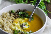 Soups & Chili Recipes / Cozy and nourishing soup and chili recipes. All recipes are meat-free, dairy-free, egg-free, vegan, and plant-based.