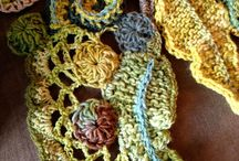 Freeform knit/crochet