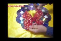 RECICLAJE DE CDs / by Olga Laureano