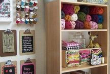 Studio / Beautiful and inspiring studio spaces and sewing rooms...