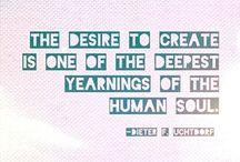 Creative Inspiring Quotes / Creative Inspiring Quotes