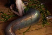 Mermaids and Sirens / Pictures of mermaids and sirens I like and think are inspirational.