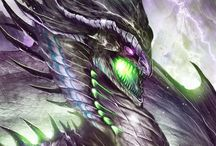 Dragon et Wyvern