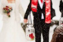 Bonnie & Jay's Winter Wedding / February 2014 - beautiful winter outdoor wedding